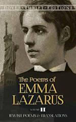The Poems of Emma Lazarus, Volume II (Dover Thrift Editions, nr. 2)
