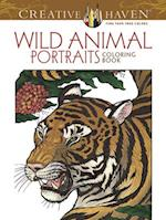 Creative Haven Wild Animal Portraits Coloring Book (Creative Haven Coloring Books)