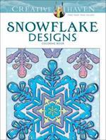 Creative Haven Snowflake Designs Coloring Book (Creative Haven Coloring Books)