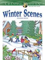Creative Haven Winter Scenes Coloring Book af Marty Noble