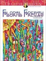 Creative Haven Floral Frenzy Coloring Book af Miryam Adatto