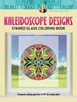 Creative Haven Kaleidoscope Designs Stained Glass Coloring Book af Carol Schmidt