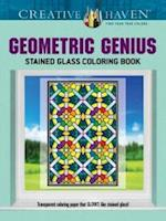 Creative Haven Geometric Genius Stained Glass Coloring Book af Henry Shaw
