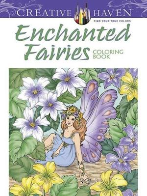 Bog, paperback Creative Haven Enchanted Fairies Coloring Book af Barbara Lanza