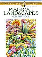 Creative Haven Magical Landscapes Coloring Book af Miryam Adatto