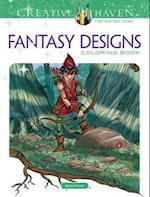 Creative Haven Fantasy Designs Coloring Book af Aaron Pocock
