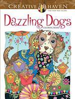 Creative Haven Dazzling Dogs Coloring Book af Marjorie Sarnat