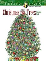 Creative Haven Christmas Trees Coloring Book af Barbara Lanza