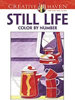 Creative Haven Still Life Color by Number Coloring Book (Creative Haven Coloring Books)