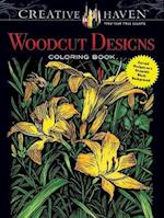 Creative Haven Woodcut Designs Coloring Book (Creative Haven Coloring Books)