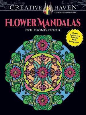 Creative Haven Flower Mandalas Coloring Book