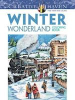 Creative Haven Winter Wonderland Coloring Book