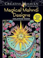 Creative Haven Magical Mehndi Designs Coloring Book af Lindsey Boylan
