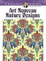 Creative Haven Art Nouveau Nature Designs Coloring Book af Marty Noble