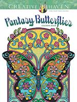Creative Haven Fantasy Butterflies Coloring Book af Marty Noble