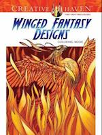 Creative Haven Winged Fantasy Designs Coloring Book af Aaron Pocock