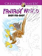 Creative Haven Fantasy World Dot-to-Dot