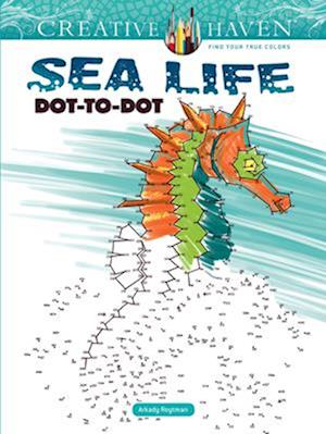 Bog, paperback Creative Haven Sea Life Dot-to-Dot af Arkady Roytman