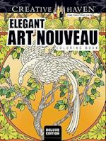 Creative Haven Elegant Art Nouveau Coloring Book