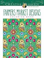 Creative Haven Farmers Market Designs Coloring Book af Marty Noble