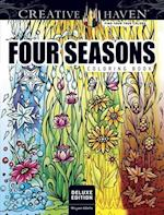 Creative Haven Four Seasons Coloring Book