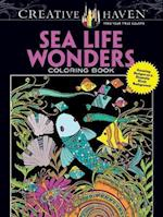 Creative Haven Sea Life Wonders Coloring Book