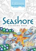 Bliss Seashore Coloring Book (Adult Coloring)
