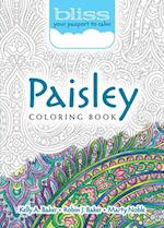 Bliss Paisley Coloring Book (Adult Coloring)