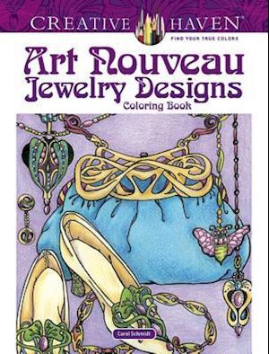 Bog, paperback Creative Haven Art Nouveau Jewelry Designs Coloring Book af Carol Schmidt
