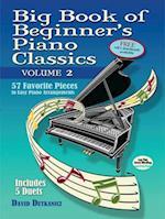 Big Book of Beginner's Piano Classics Volume Two