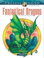 Creative Haven Fantastical Dragons Coloring Book