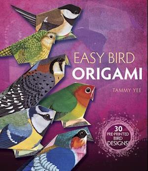 Bog, paperback Easy Bird Origami af Tammy Yee