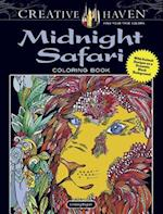 Creative Haven Midnight Safari Coloring Book
