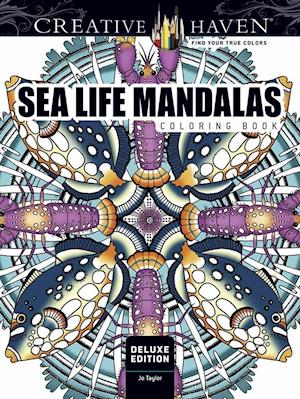 Bog, paperback Creative Haven Sea Life Mandalas Coloring Book af Jo Taylor