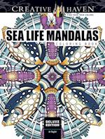 Creative Haven Deluxe Edition Sea Life Mandalas Coloring Book (Adult Coloring)