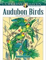 Creative Haven Audubon Birds Coloring Book (Adult Coloring)
