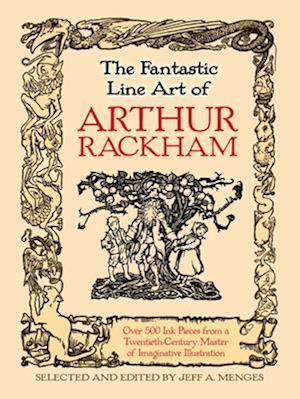 Bog, paperback Fantastic Line Art of Arthur Rackham af Arthur Rackham