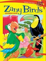 Spark Zany Birds Coloring Book (Dover Coloring Books)