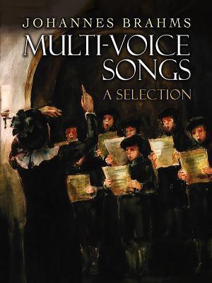 Bog, paperback Multi-Voice Songs af Johannes Brahms
