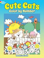 Cute Cats Color by Number (Dover Coloring Books)