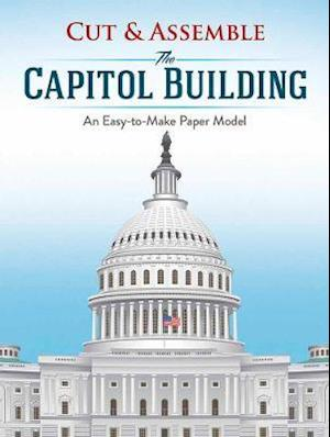 Bog, paperback Cut & Assemble the Capitol Building af Matt Bergstrom
