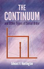 Continuum and Other Types of Serial Order
