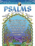 Creative Haven Psalms Coloring Book