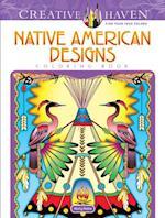 Creative Haven Native American Designs Coloring Book