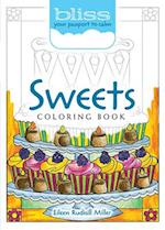 BLISS Sweets Coloring Book