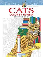 Creative Haven Cats Color by Number Coloring Book (Adult Coloring)