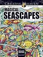 Creative Haven Deluxe Edition Magical SeaScapes Coloring Book