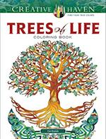 Creative Haven Trees of Life Coloring Book af Cari Buziak