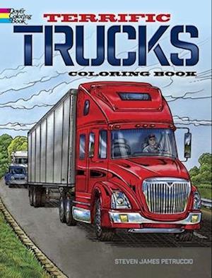 Terrific Trucks Coloring Book