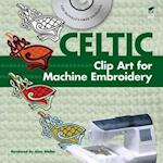Celtic Clip Art for Machine Embroidery [With CDROM] (Dover Clip Art Embroidery)